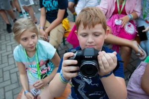 PEOPLE TEAM gyerektáborában van fotósszekció is